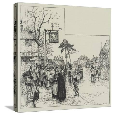 Eyre's Acquittal-Amedee Forestier-Stretched Canvas Print