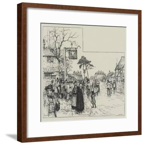 Eyre's Acquittal-Amedee Forestier-Framed Art Print