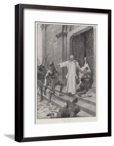 Sanctuary-Amedee Forestier-Framed Art Print