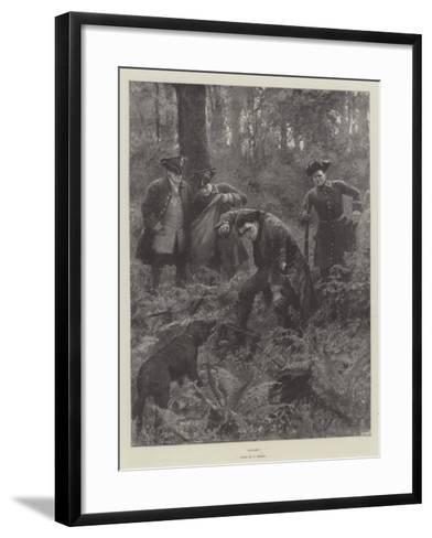 Caught!-Amedee Forestier-Framed Art Print
