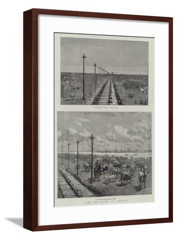 Over the Plains to Colourado-Amedee Forestier-Framed Art Print