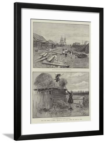 From the Thames to Siberia-Amedee Forestier-Framed Art Print