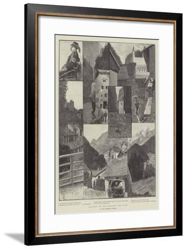 Sketches in the Engadine and Tyrol-Amedee Forestier-Framed Art Print