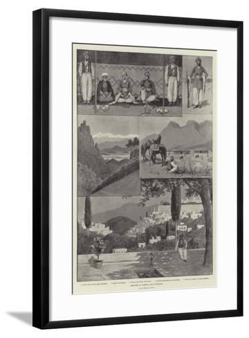 Sketches of Armenia and Kurdistan-Amedee Forestier-Framed Art Print