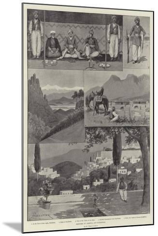 Sketches of Armenia and Kurdistan-Amedee Forestier-Mounted Giclee Print