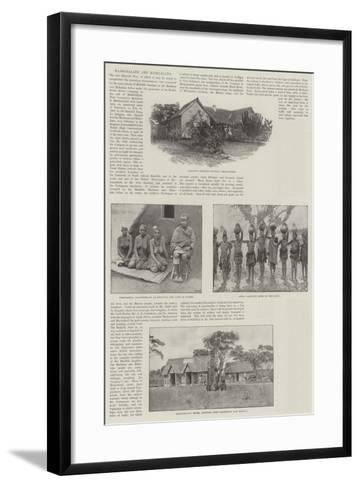 Mashonaland and Manicaland-Amedee Forestier-Framed Art Print