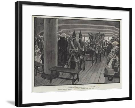 The World Went Very Well Then-Amedee Forestier-Framed Art Print