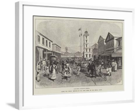Across Two Oceans, Sketches in the West Indies-Amedee Forestier-Framed Art Print