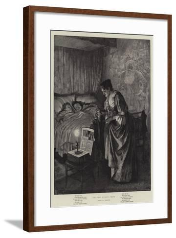 The Visit of Santa Claus-Amedee Forestier-Framed Art Print