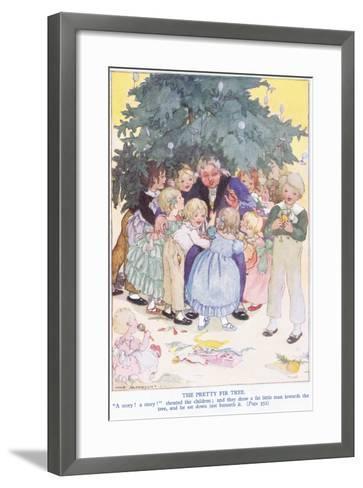 The Pretty Fir Tree-Anne Anderson-Framed Art Print