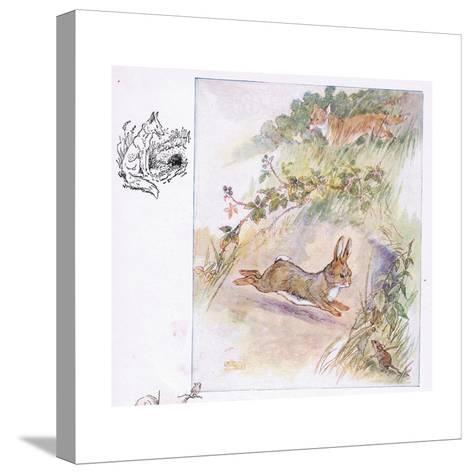 Worst Fright of All-Anne Anderson-Stretched Canvas Print