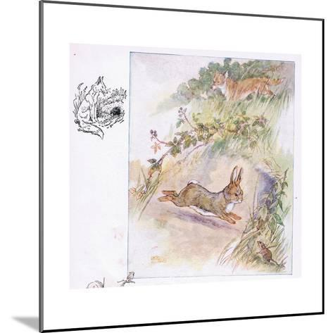 Worst Fright of All-Anne Anderson-Mounted Giclee Print