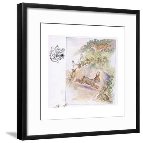 Worst Fright of All-Anne Anderson-Framed Art Print