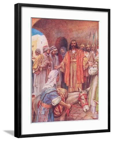 Absoloms Rebellion-Arthur A^ Dixon-Framed Art Print
