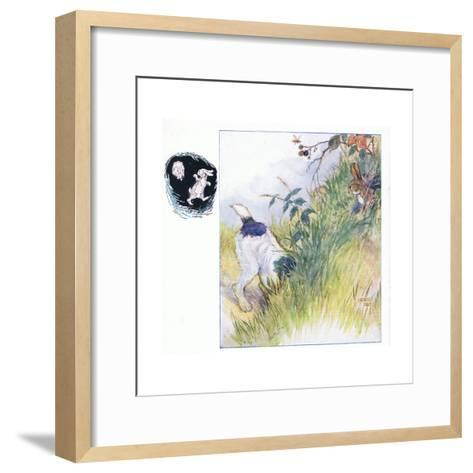 Had a Fright-Anne Anderson-Framed Art Print