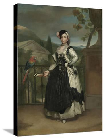 Portrait of Isabel Parreno Arce And, Marquesa De Llano, C.1771-2-Anton Raphael Mengs-Stretched Canvas Print