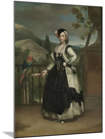 Portrait of Isabel Parreno Arce And, Marquesa De Llano, C.1771-2-Anton Raphael Mengs-Mounted Giclee Print
