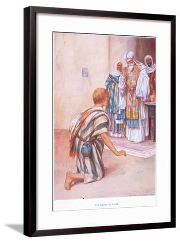 The Choice of David-Arthur A^ Dixon-Framed Art Print