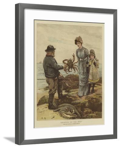 Beauties of the Deep-Arthur Hopkins-Framed Art Print