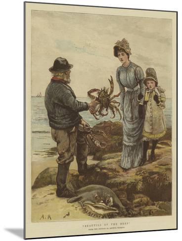 Beauties of the Deep-Arthur Hopkins-Mounted Giclee Print