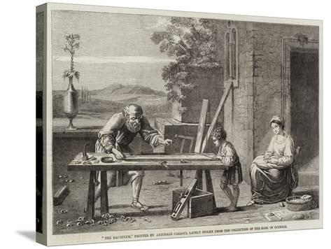 The Raboteur-Annibale Carracci-Stretched Canvas Print
