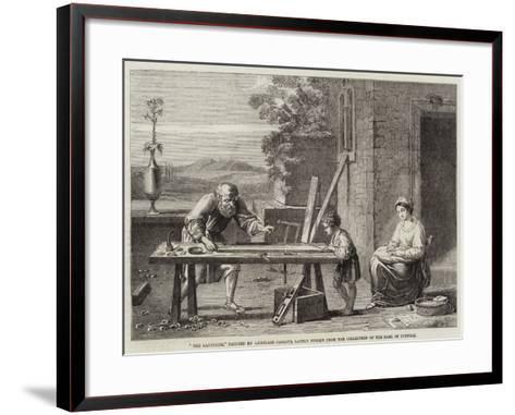 The Raboteur-Annibale Carracci-Framed Art Print