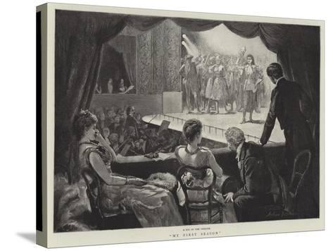My First Season-Arthur Hopkins-Stretched Canvas Print