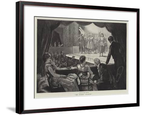 My First Season-Arthur Hopkins-Framed Art Print
