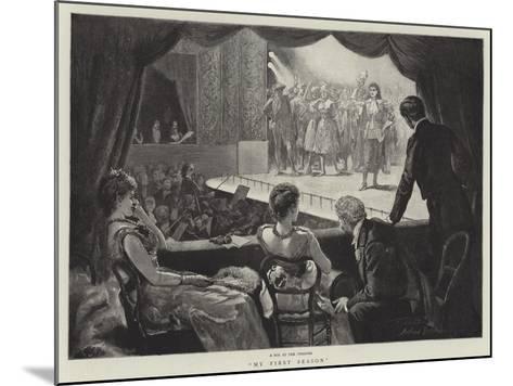 My First Season-Arthur Hopkins-Mounted Giclee Print