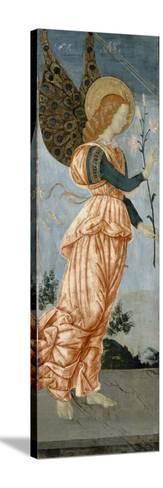 Angel of the Annunciation, C.1500-Antoniazzo Romano-Stretched Canvas Print