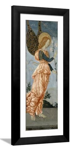 Angel of the Annunciation, C.1500-Antoniazzo Romano-Framed Art Print