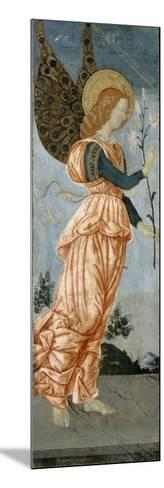 Angel of the Annunciation, C.1500-Antoniazzo Romano-Mounted Giclee Print