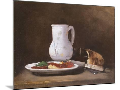Still Life, 1861-Auguste Theodule Ribot-Mounted Giclee Print