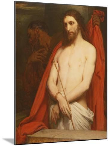 Christ with the Reed-Ary Scheffer-Mounted Giclee Print