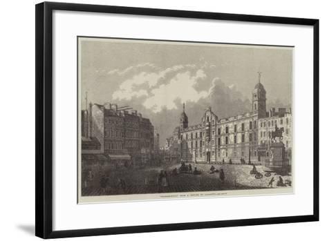 Charing-Cross-Antonio Canaletto-Framed Art Print