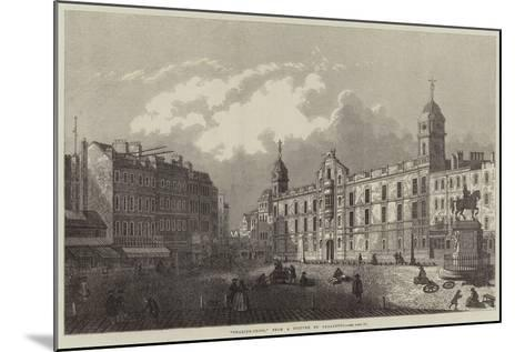 Charing-Cross-Antonio Canaletto-Mounted Giclee Print