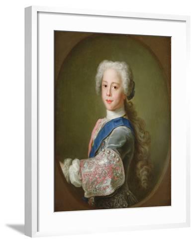 Portrait of Prince Henry Benedict Clement Stewart, 1732-Antonio David-Framed Art Print