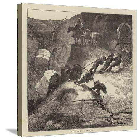 Sketches in the Far West-Arthur Boyd Houghton-Stretched Canvas Print