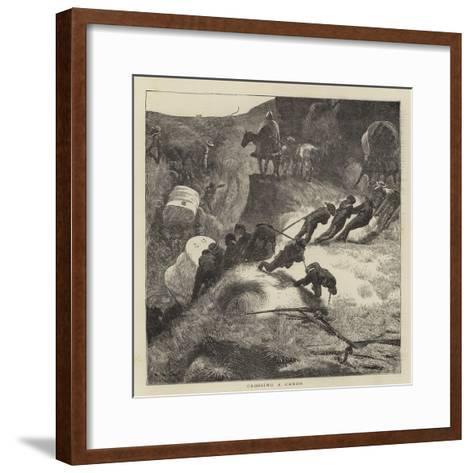 Sketches in the Far West-Arthur Boyd Houghton-Framed Art Print