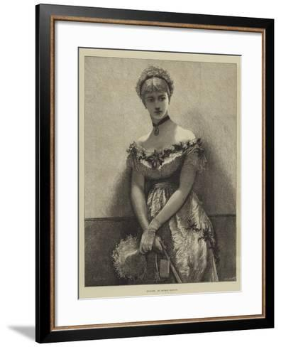 Engaged-Arthur Hopkins-Framed Art Print