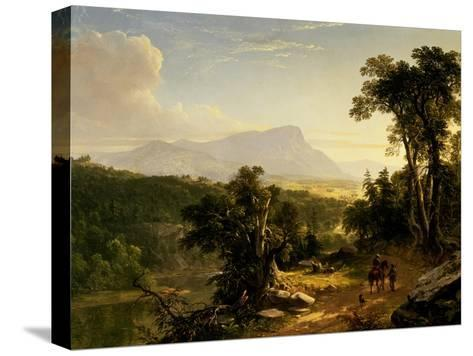 Landscape-Composition: in the Catskills, 1848-Asher Brown Durand-Stretched Canvas Print
