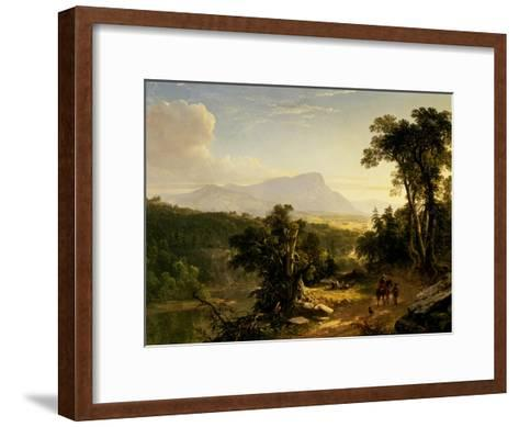 Landscape-Composition: in the Catskills, 1848-Asher Brown Durand-Framed Art Print