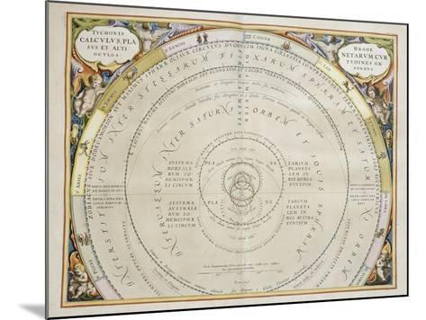 Harmonia Macrocosmica-Andreas Cellarius-Mounted Giclee Print