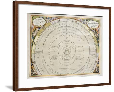 Harmonia Macrocosmica-Andreas Cellarius-Framed Art Print