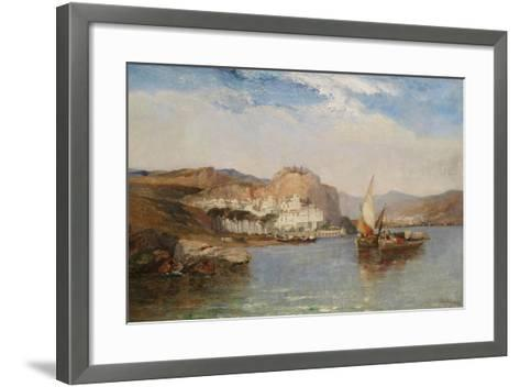 Near Amalfi, Gulf of Salerno, Italy, 1877-Arthur Joseph Meadows-Framed Art Print