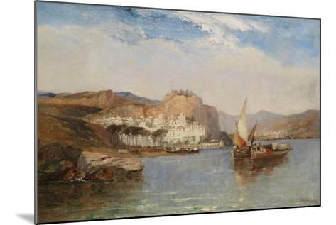 Near Amalfi, Gulf of Salerno, Italy, 1877-Arthur Joseph Meadows-Mounted Giclee Print