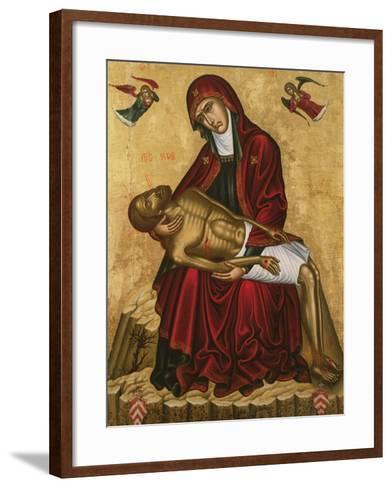 Pieta-Andreas Pavias-Framed Art Print