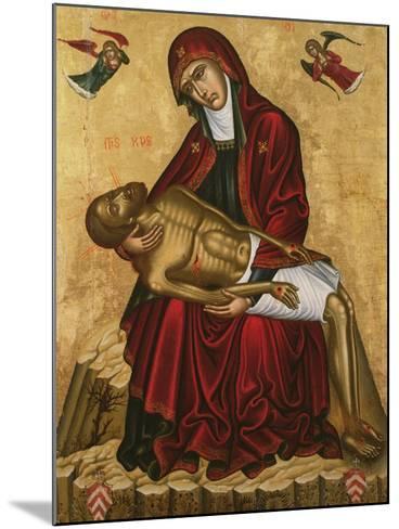 Pieta-Andreas Pavias-Mounted Giclee Print