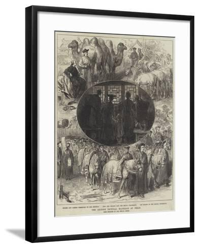 The Chinese Imperial Marriage at Pekin-Arthur Hopkins-Framed Art Print