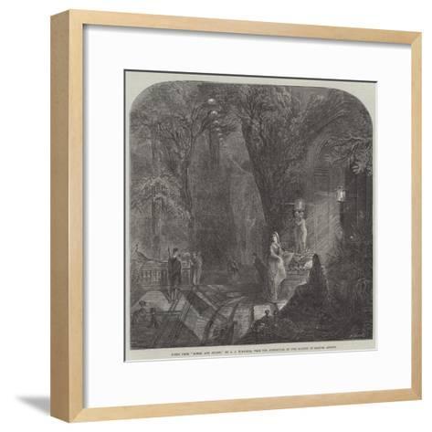 Scene from Romeo and Juliet-Arthur Joseph Woolmer-Framed Art Print